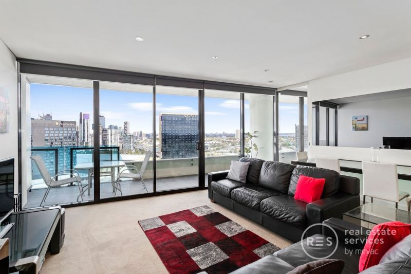 Fully furnished apartment with views of Port Phillip Bay