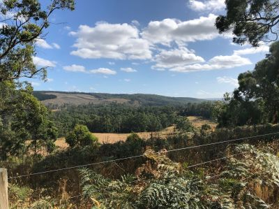Scenic rural holding complete with amazing views.   67.61ha 167 acres approx.
