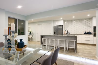 Broadwater Location, Spacious North Facing Entertainer's Paradise