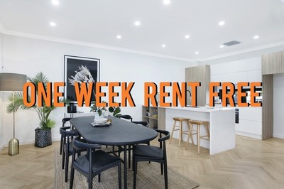 *ONE WEEK RENT FREE* New Park Side Contemporary Residence
