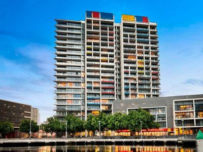 One of the largest one bedroomapartments on offer in highly desired Yarra's Edge