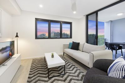 2 Bedroom with City Views
