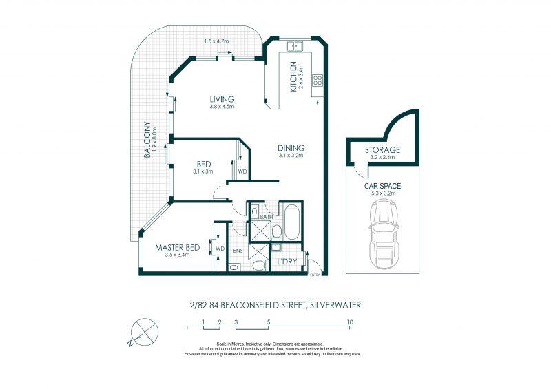 2/82-84 Beaconsfield Street Silverwater 2128