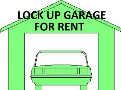 Small Garage for Lease