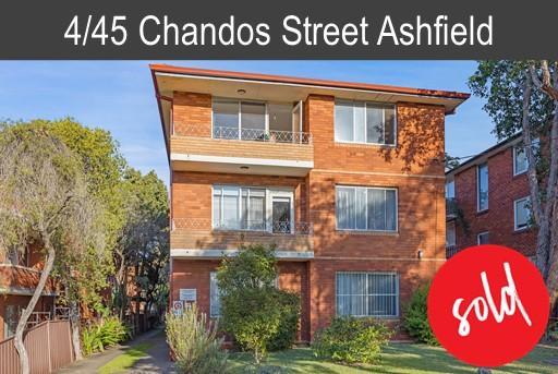 Purchaser | James | 4/45 Chandos Street Ashfield