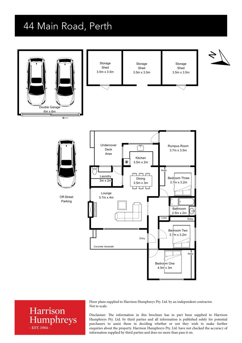 44 Main Road Floorplan