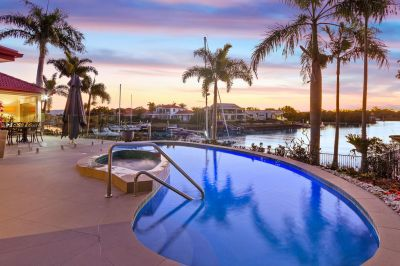 Luxury Living at its Finest with Uninterrupted Water Views