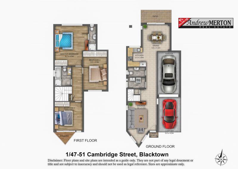 1/47 Cambridge Street, Blacktown