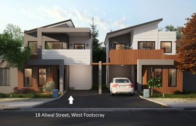 'Off The Plan Purchase' Two Story Townhouse With Total Street Frontage, Featuring Two Bedrooms And Two Bathrooms.