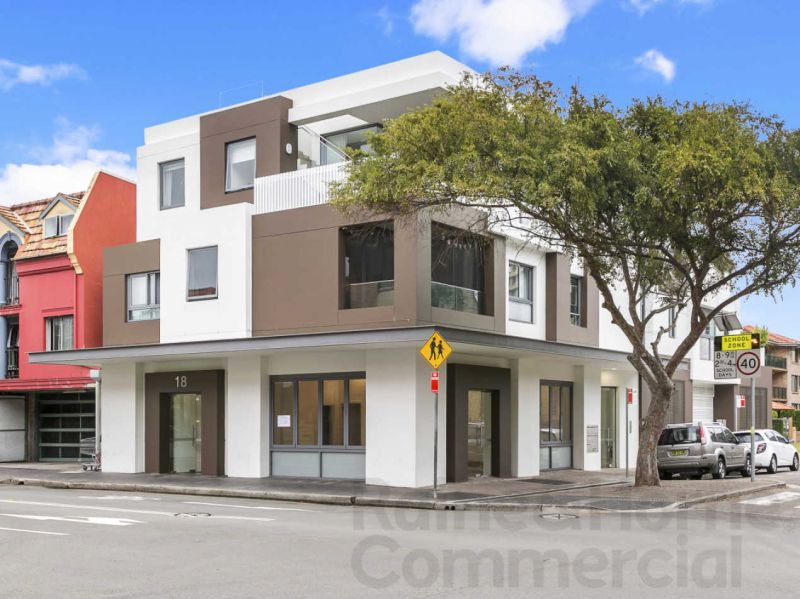 Excellent Retail Location in Manly with Two Street Frontages