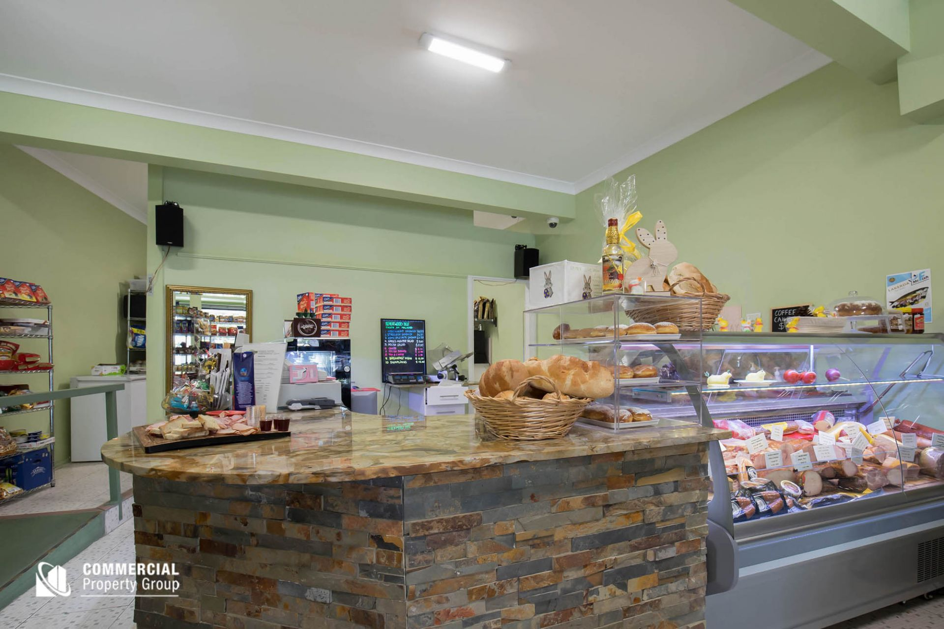 2 SHOPS & 2 RESIDENCES - ALL LEASED OUT