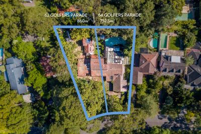 Blue ribbon location with double development potential