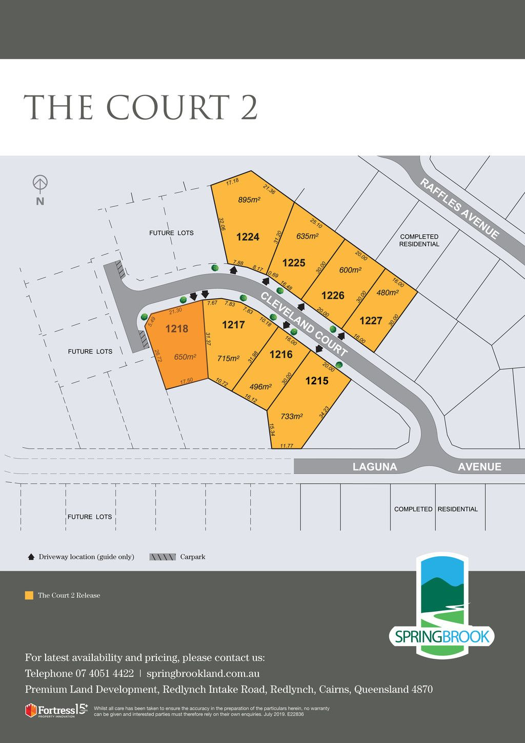 Lot 1218 Cleveland Court, Redlynch QLD 4870