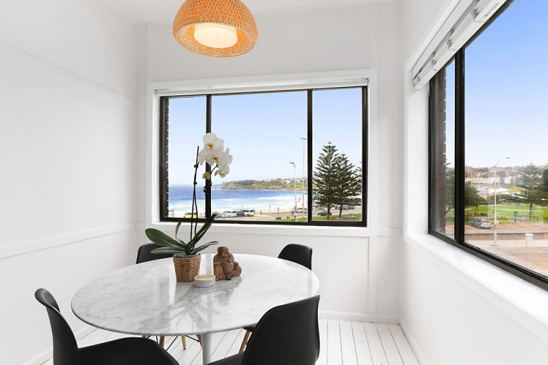 Inspect By Private Appointment At Any Time! The Quintessential Furnished Bondi Beach Pad with Front Row Views