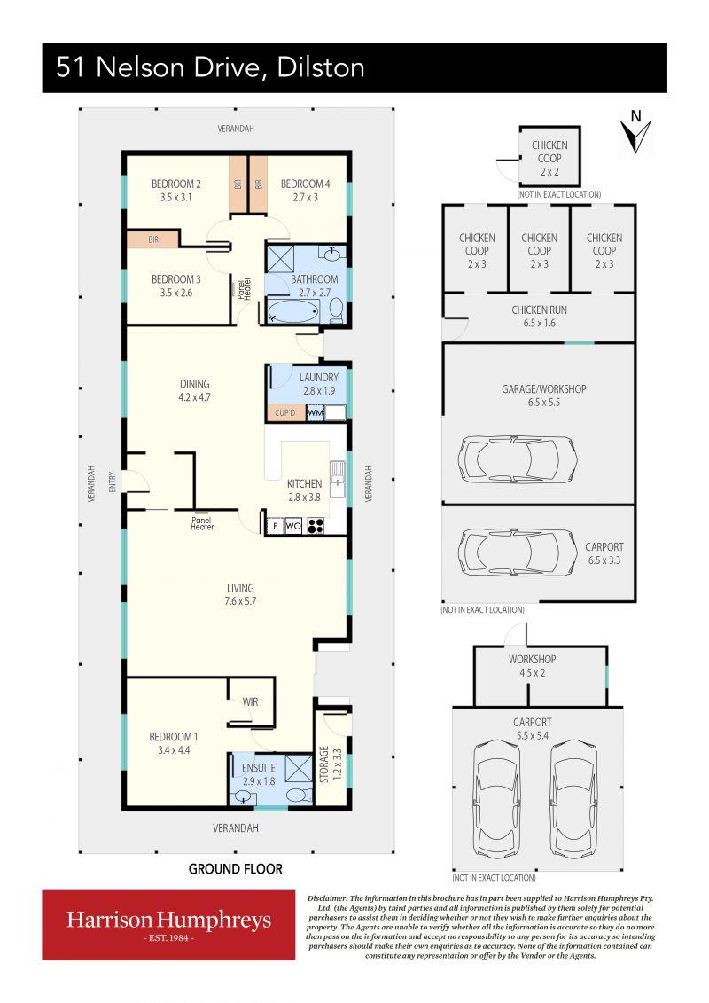 51 Nelson Drive Floorplan