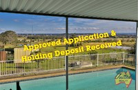 HOLDING DEPOSIT RECEIVED - APPLICATION APPROVED!