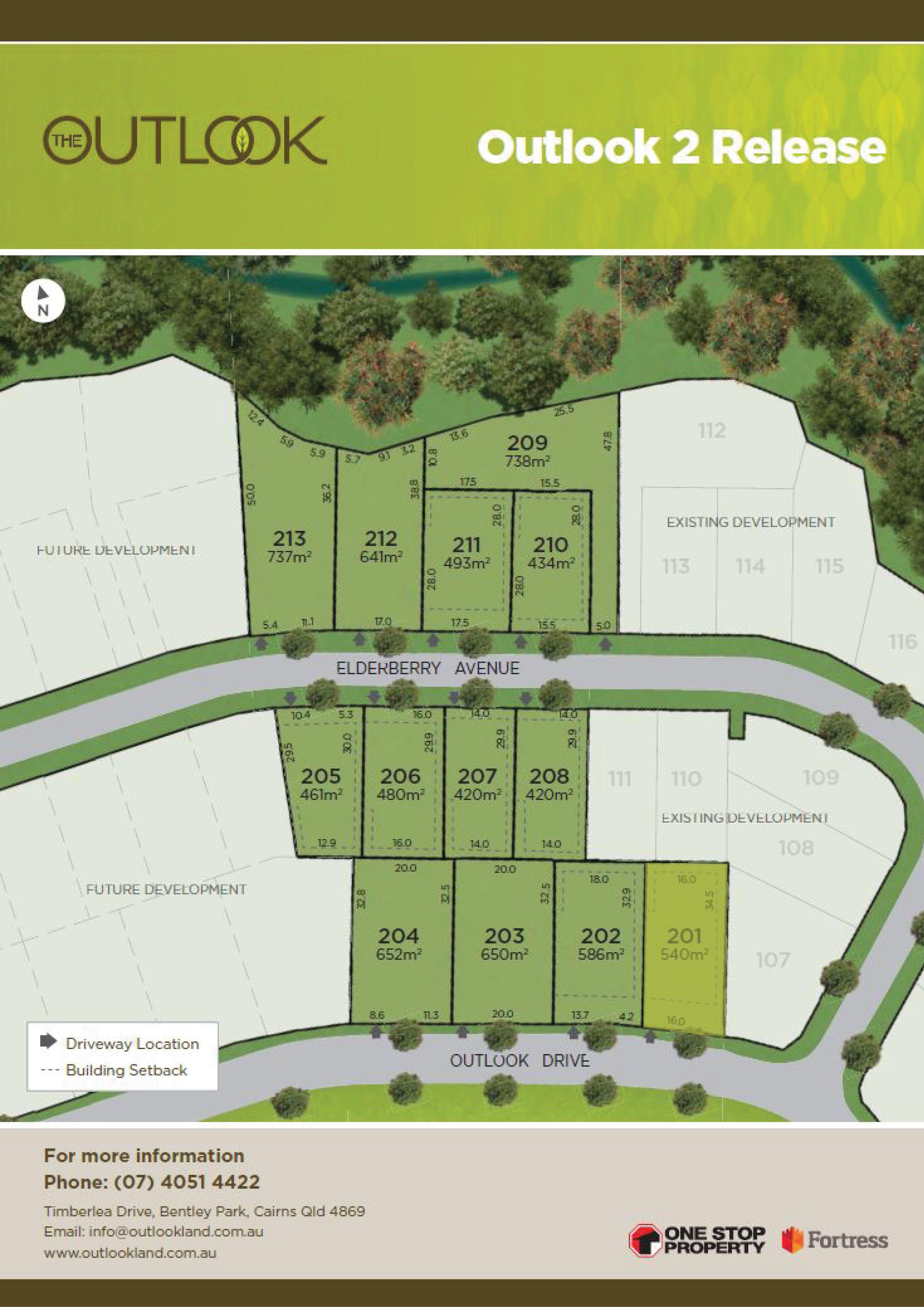 Lot 201 Outlook Drive, Bentley Park QLD 4869