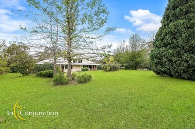 escape the hustle and bustle on smaller acres with light filled 4 bedroom home, high ceilings and magical views.