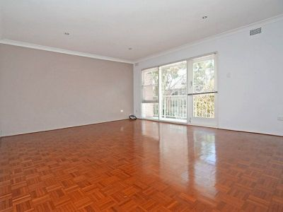 NORTH FACING APT, WITH LEAFY OUTLOOK + OWN CAR SPACE