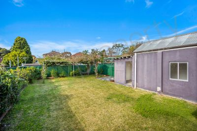 Charming family home with spacious backyard