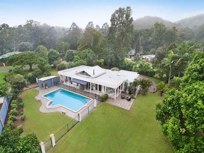 Private Flat Acreage with Quality Entertainer