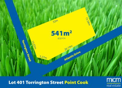 541 sqm (approx.) of Point Cook Corner Gold!