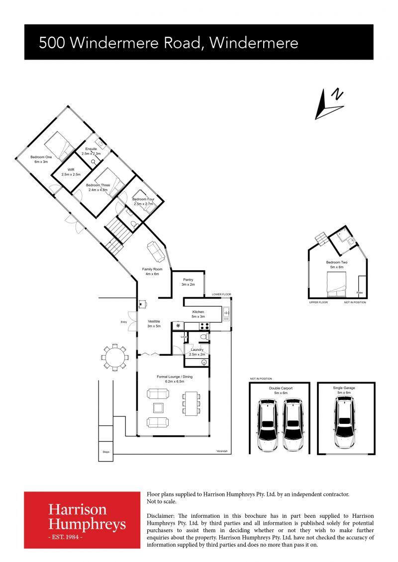 500 Windermere Road Floorplan