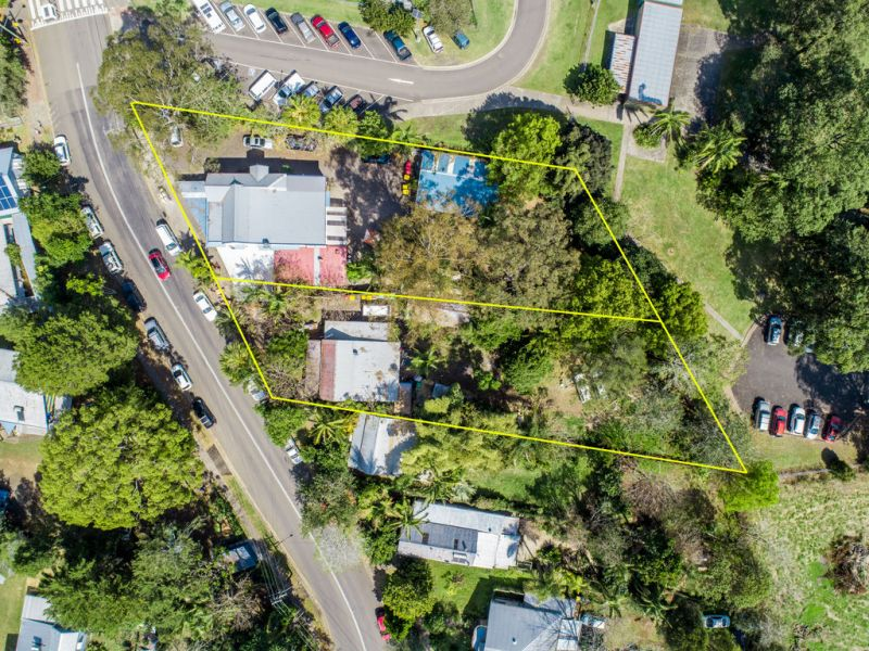 DA APPROVED BOUTIQUE HOTEL DEVELOPMENT SITE IN THE HEART OF NIMBIN