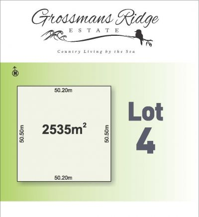 Lot 4/460 Grossmans Road, BELLBRAE