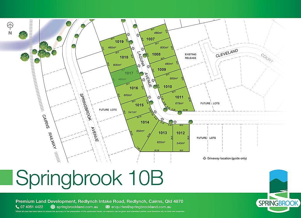 Lot 1017 Laguna Avenue, Redlynch QLD 4870