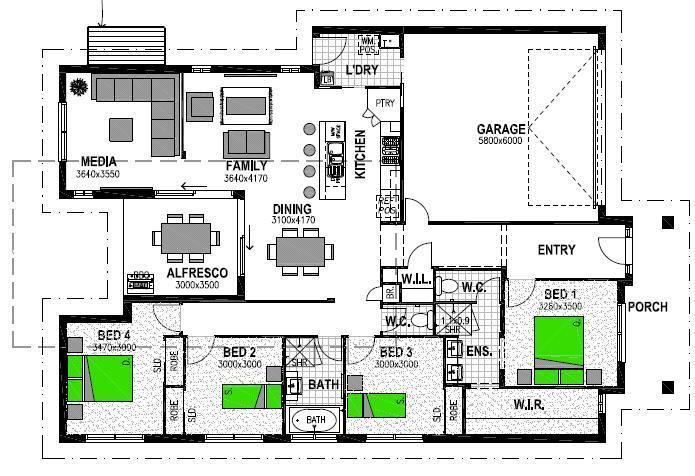 103 ALAWOONA STREET REDBANK PLAINS Floorplan