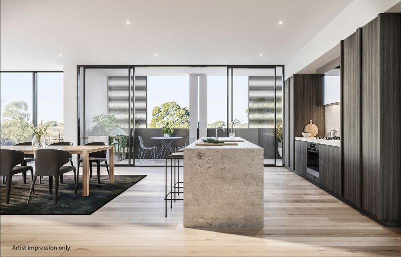 DUE FOR COMPLETION EARLY APRIL 2019 - LAST ONE REMAINING: 2 Bedroom First Level Designer Apartment Offering Exceptional Value