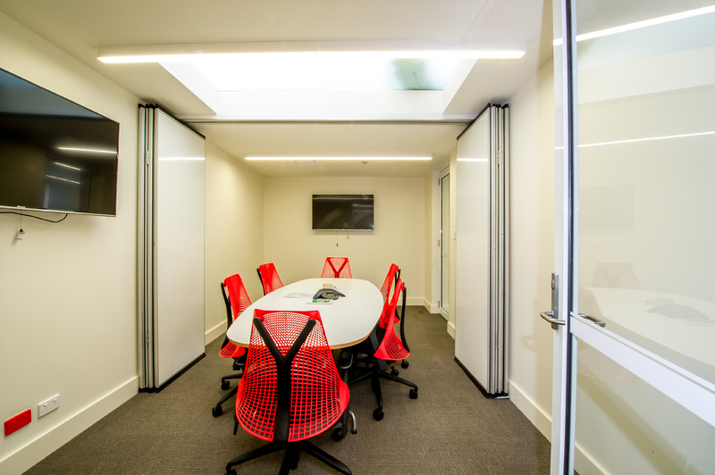 High Tech Fully Fitted Out office space for lease from 295 to 635 m2.