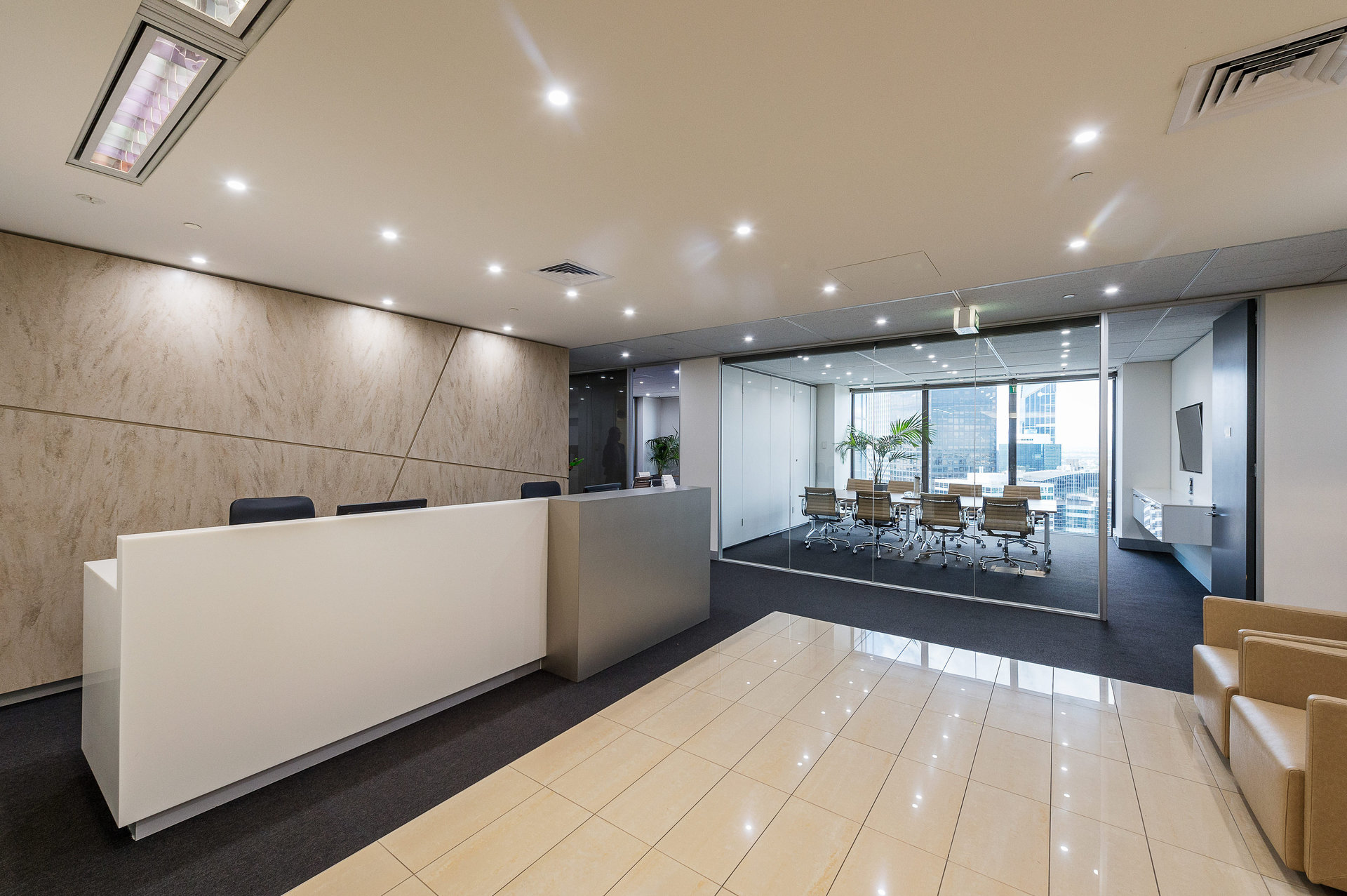 11 Square Metre Office Space available at Rialto Tower, 525 Collins St – Prestigious Location – All Inclusive Cost