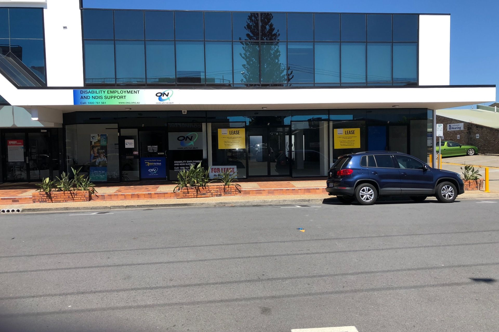 SHOPS FOR LEASE IN PRIME POSITION
