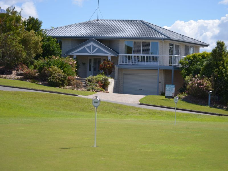 Opposite Golf Clubhouse with Mount Coolum Views