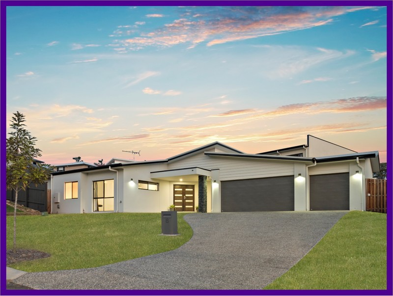 Contemporary Lowset Living on 806m2