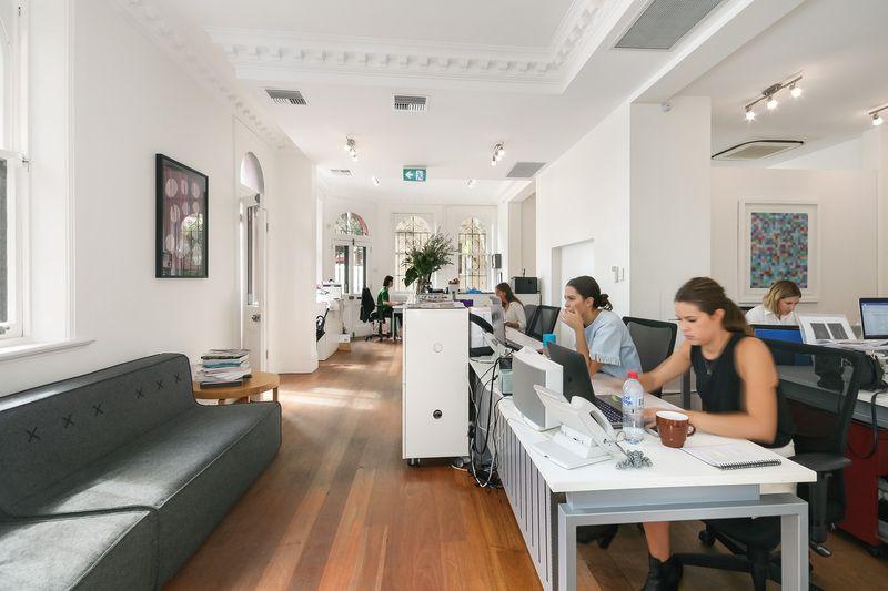 Contemporary City-Fringe Office