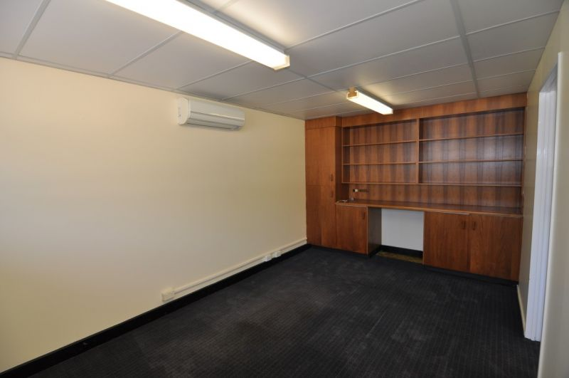 Ground floor CBD offices - fully fitted with on site parking