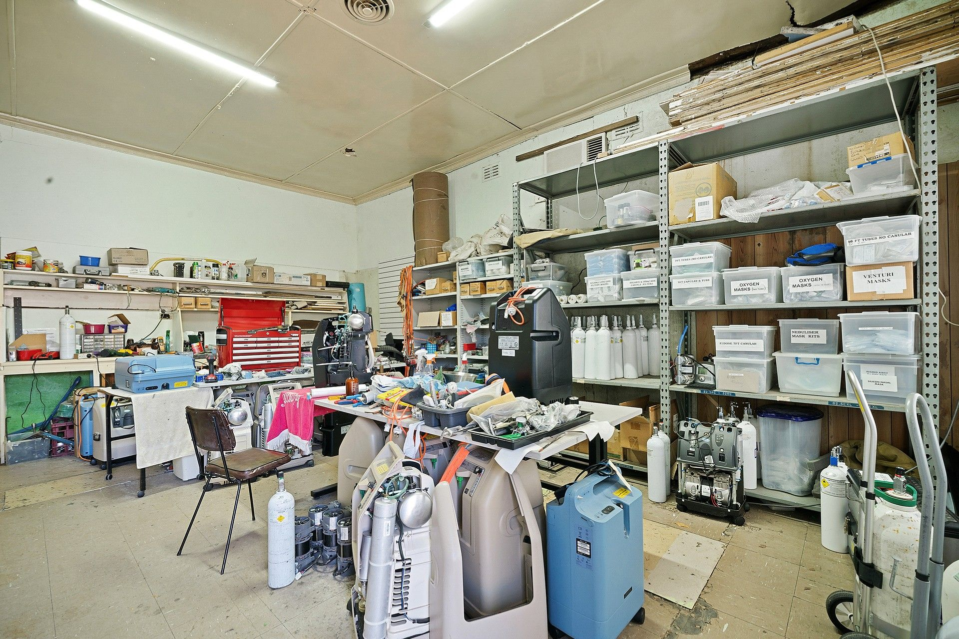 COMMERCIAL PROPERTY WITH 2 SHOPS + RESIDENCE.  SELLING AS ONE, INCLUDING MEDICAL RELATED BUSINESS