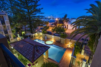 Resort-like vibes in premier beachside setting  Nobby Beach