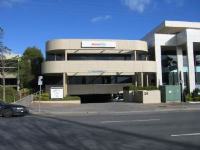 Partitioned office space on prestigious Greenhill Road.