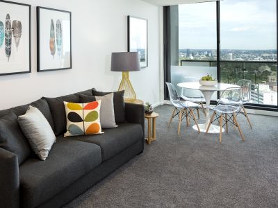 Southbank Grand: Brilliantly Positioned 37th Floor, Near New Two Bedroom with Expansive Living Spaces!