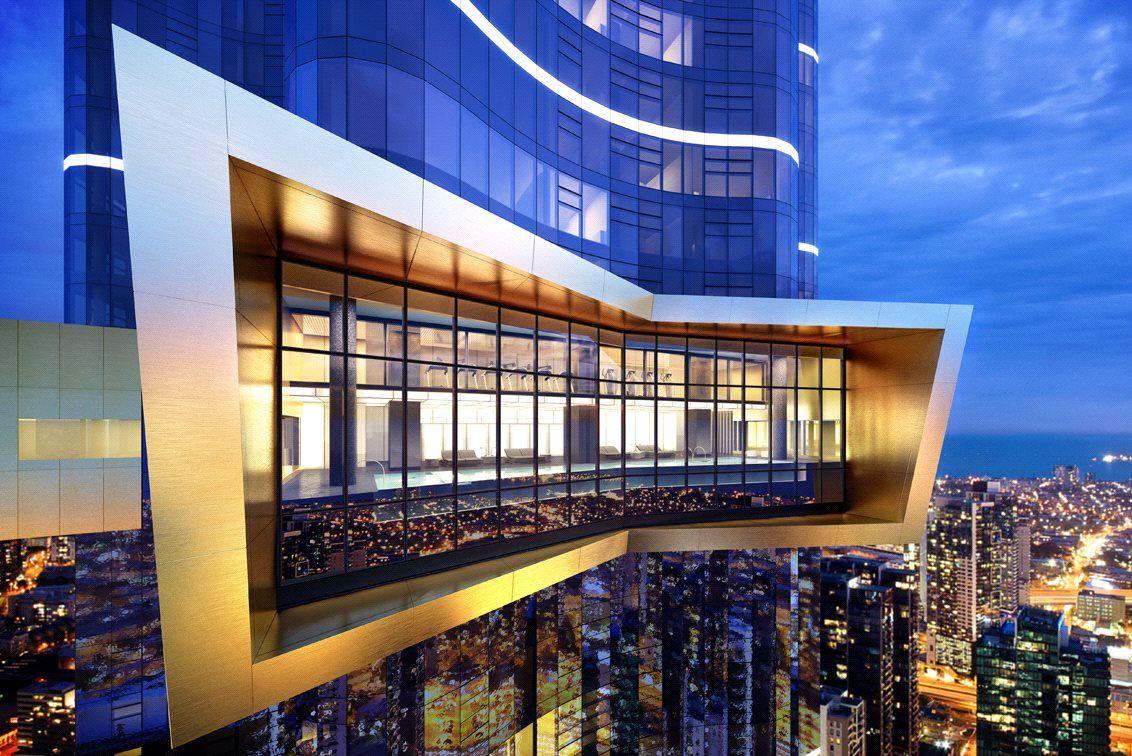 Australia 108: Stunning Brand New One Bedroom Apartment Awaits!