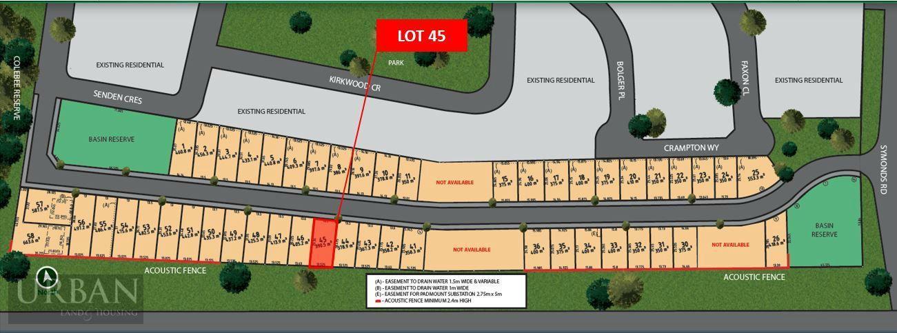 Colebee Lot 45 Proposed Road | Stone Ridge Estate