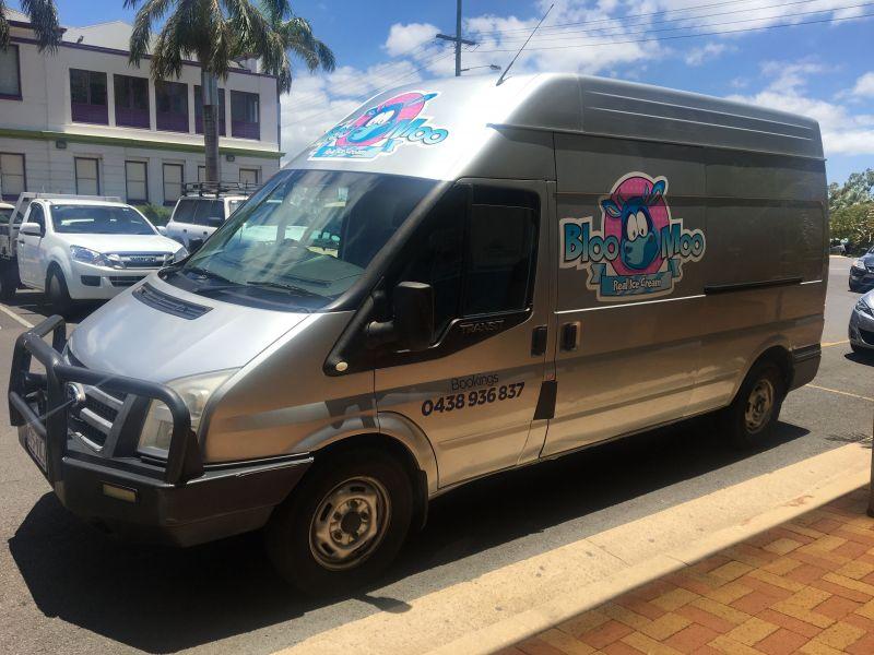 Bloo Moo Mobile Ice-cream Vendor