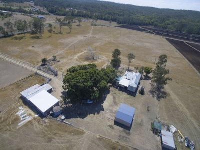 19 ACRE HOBBY FARM WITH RENOVATED QLD'ER + LOADS OF SHEDS