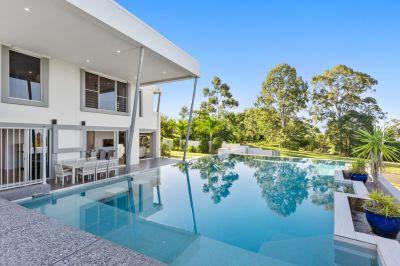 Impressive home with vast Hinterland outlook