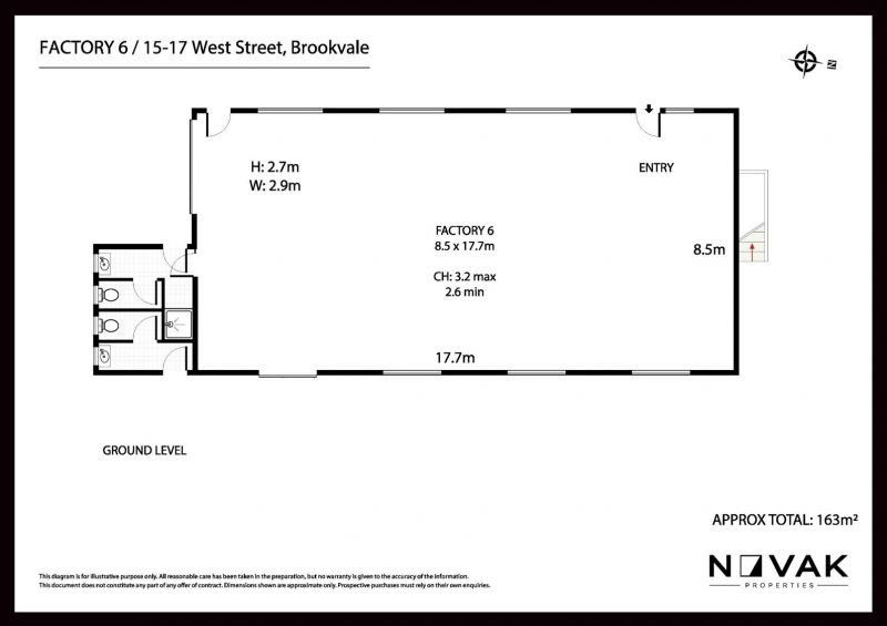 163SQM OF PRIME SPACE IN THE HEART OF BROOKVALE