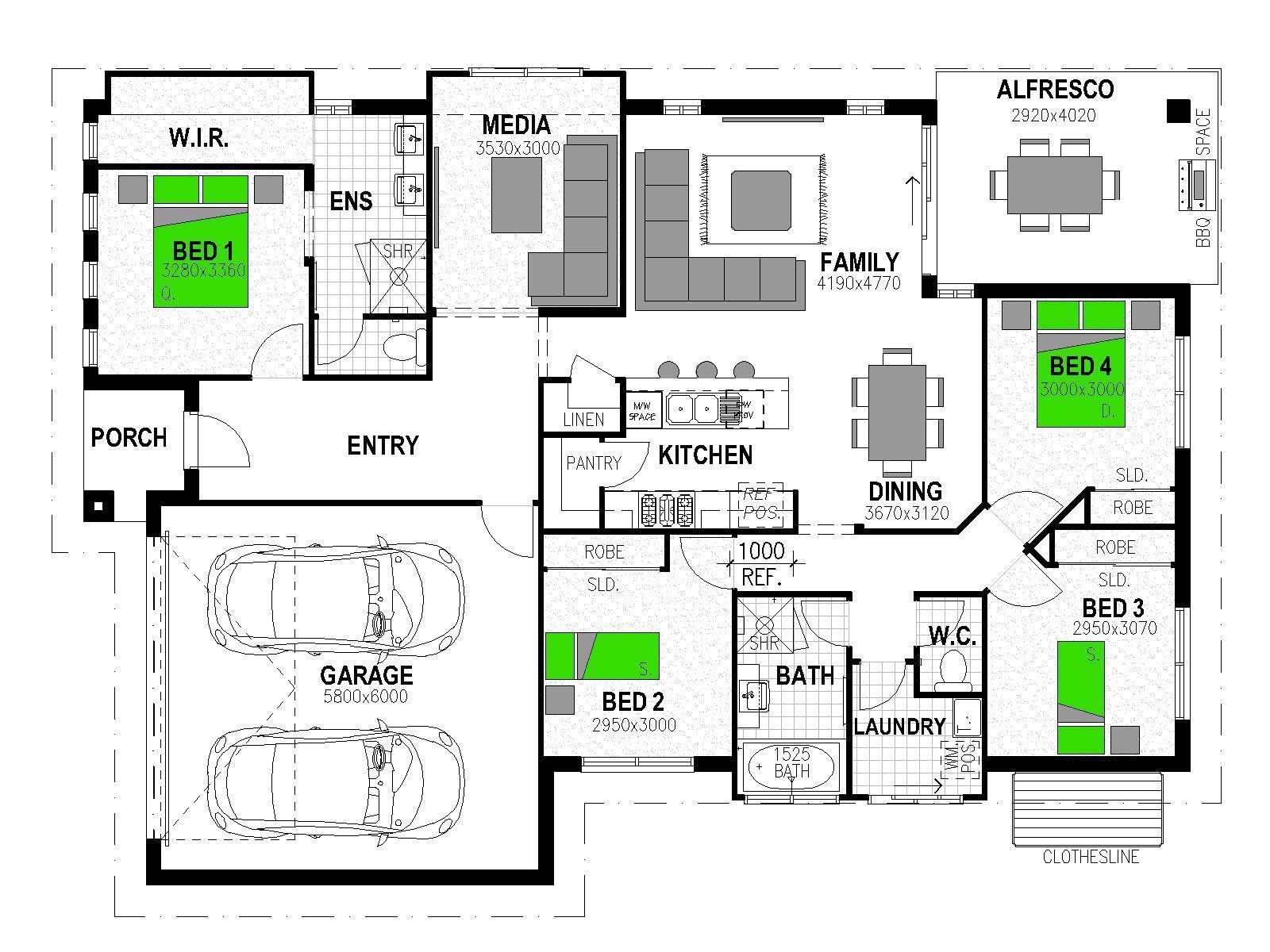 "LOT 4 ""MAIN ESTATE"" PROGRESS AVENUE WESTBROOK Floorplan"